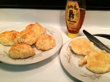 Honey Angel Biscuits